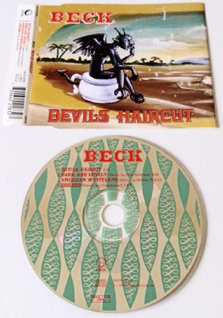 Beck ‎- Devils Haircut (CD Single Pt 1) (VG-/EX)
